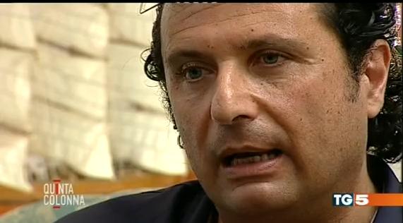 Concordia: l'intervista a Schettino all'asta. Si parte da 50 mila euro, vince Mediaset.