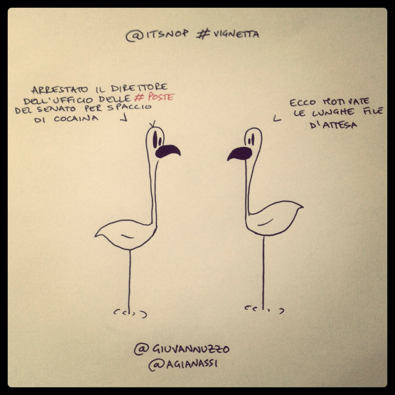 Da #Tweet a vignetta. Primo!