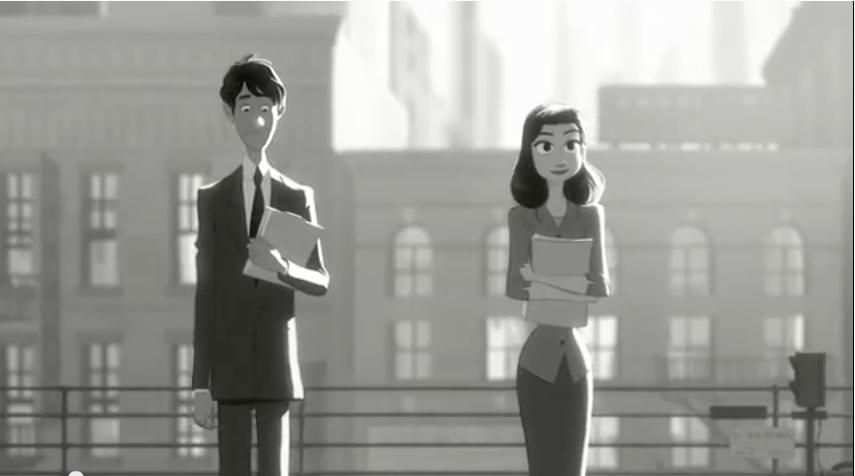 Paperman - Il corto Disney da Oscar