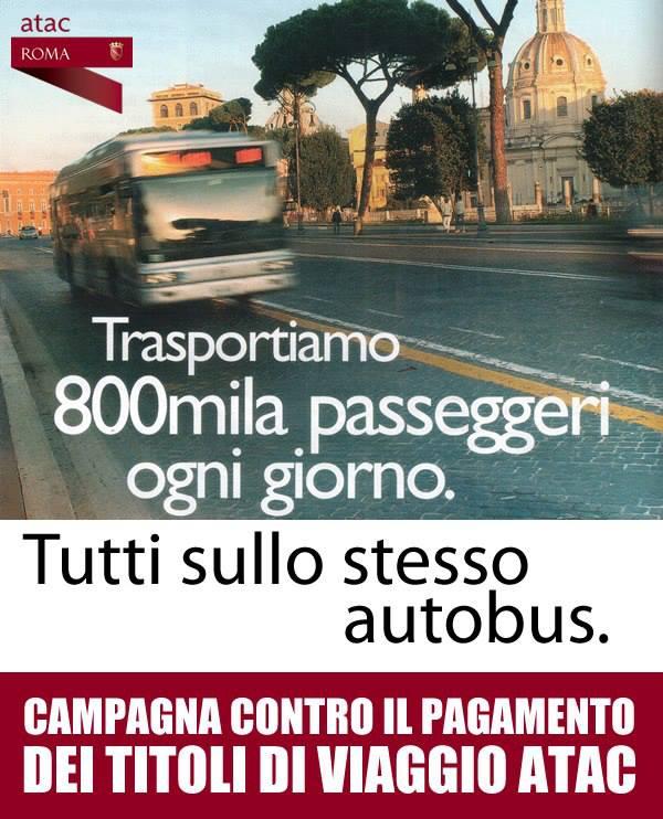 #Atac ti odio ( e anche a te #Trenitalia)