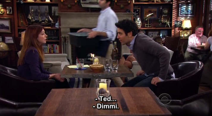 """Se i protagonisti di una serie tv  """"si rivolgono"""" a te ... #HIMYM"""