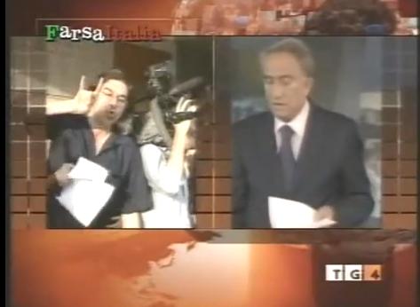 """#Paolini, il bue che dice cornuto all'asino. Nel 2009 al Tg1 (e alla CNN) urlava """"Berlusconi pedofilo"""""""