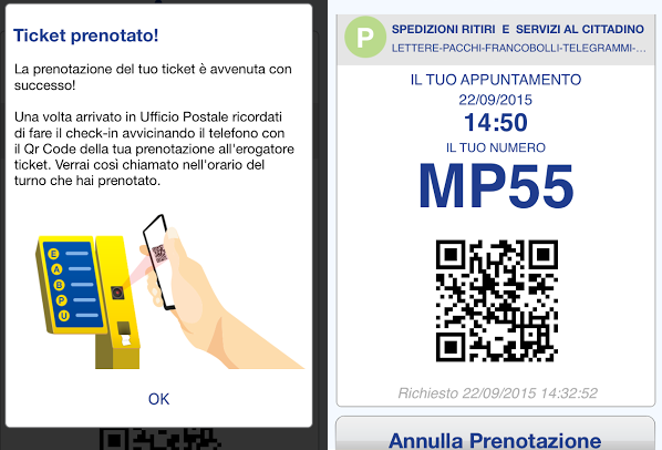 La meravigliosa (?) app di Poste Italiane
