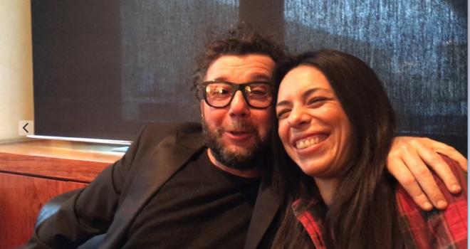 Amara e Paolo Vallesi