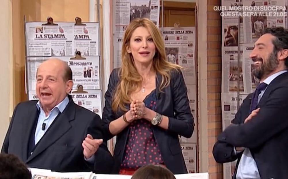 Giancarlo Magalli vs Adriana Volpe, è ancora scontro: lui insinua sui social, lei fa la vittima