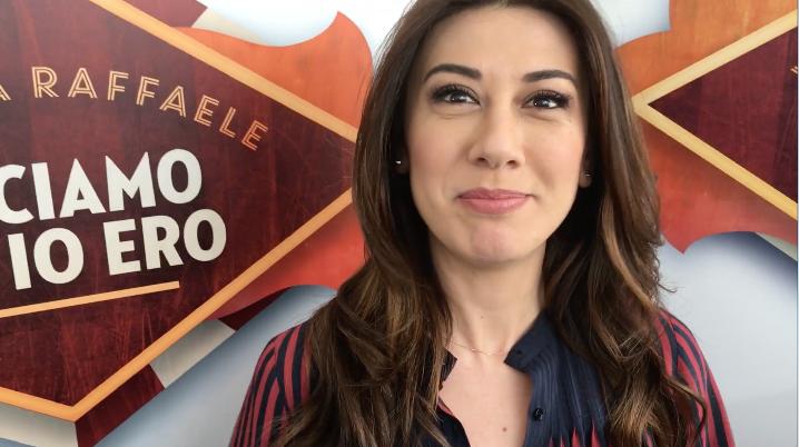 """Intervista a Virginia Raffaele: """"A Facciamo che io ero la Boschi non ci sarà. Sandra Milo? Reazione umana, va bene"""" –  video"""