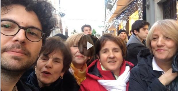 Quella volta che a Sanremo andai alla ricerca di Vessicchio (il video mai pubblicato)