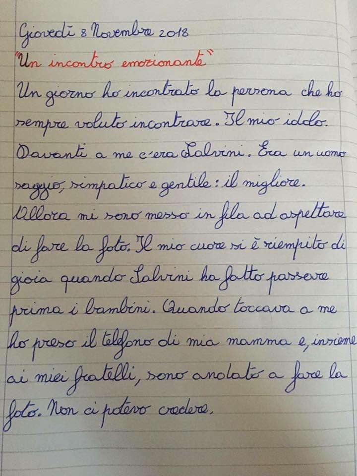 Di lettere a Matteo Salvini e idoli a 9 anni. Chi era il vostro?