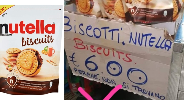 Nutella Biscuits: c'è chi dice che esistono